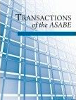 Transactions of the ASABE