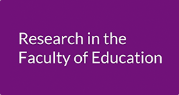 Faculty of Education Research Seminars
