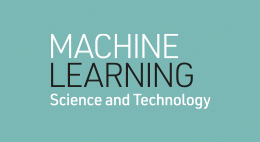Machine Learning: Science and Technology