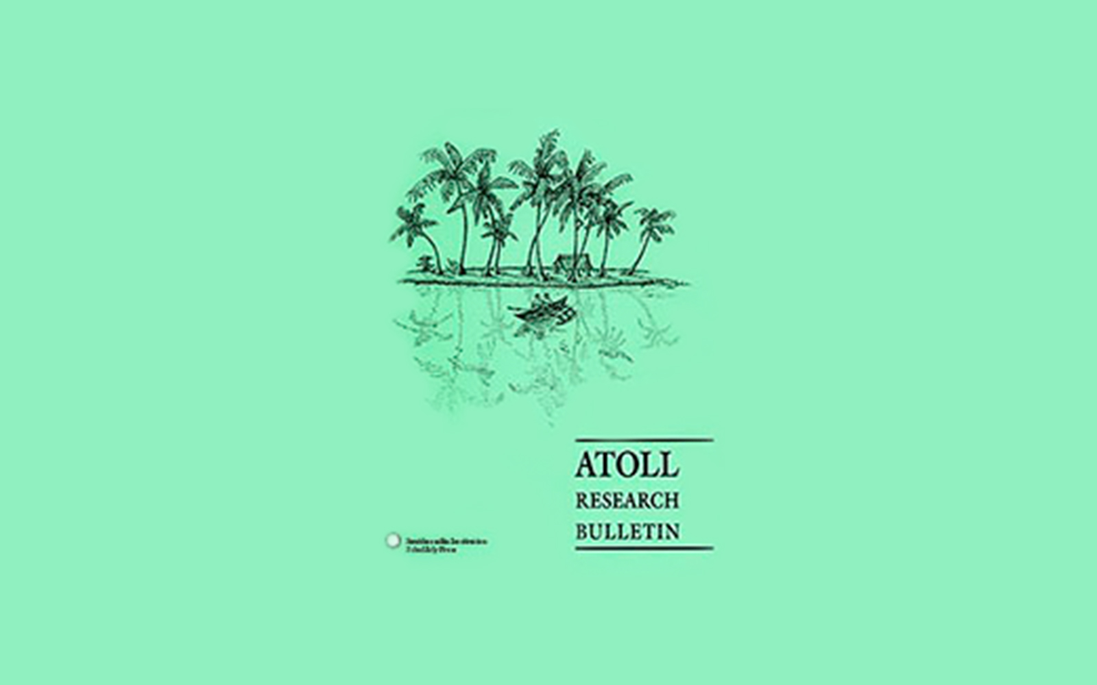 Atoll Research Bulletin  banner
