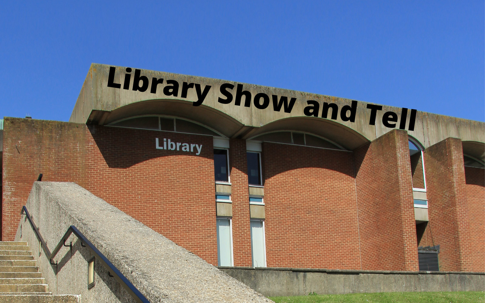 Library Show and Tell  banner